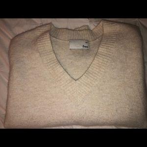 Wilfred V Neck Sweater Aritizia SZ L